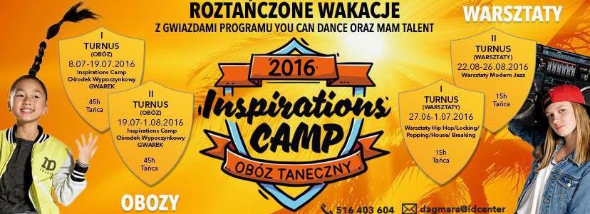 Obozy i Warsztaty Taneczne 2016