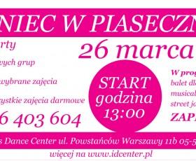 Taneczny dzień otwarty w ID Center - 26 marca!