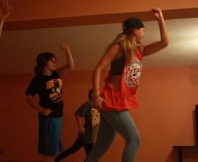 Wakacyjne warsztaty taneczne hip hop, modern jazz