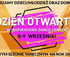 Nowy sezon taneczny- Dzień otwarty w IDC