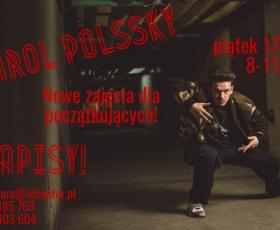 3 MARCA Pokazowa lekcja Freestyle hip-hop z Karol Polak Polssky dla dzieci 8-11 lat