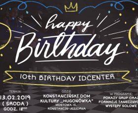 10-te Urodziny IDCenter
