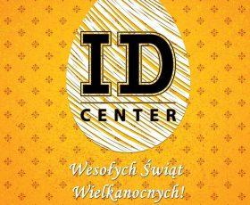 Wesołyh Świąt Wielkanocnych życzy team I.D.Center